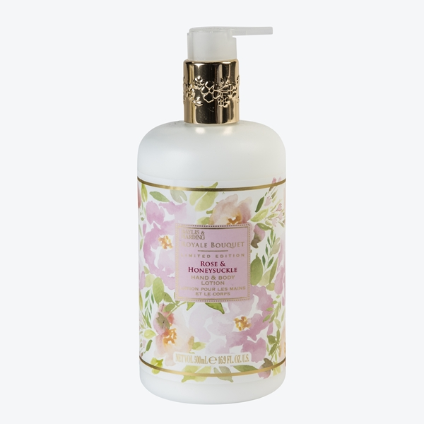 Rose & Honeysuckle body lotion
